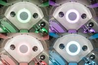 Vidalux Miami Steam Shower 900mm x 900mm Mirrored Quadrant Cubicle
